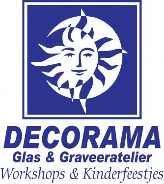 Logo Decorama Glas & Graveeratelier